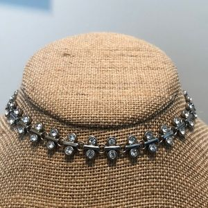 Full moon reversible choker necklace